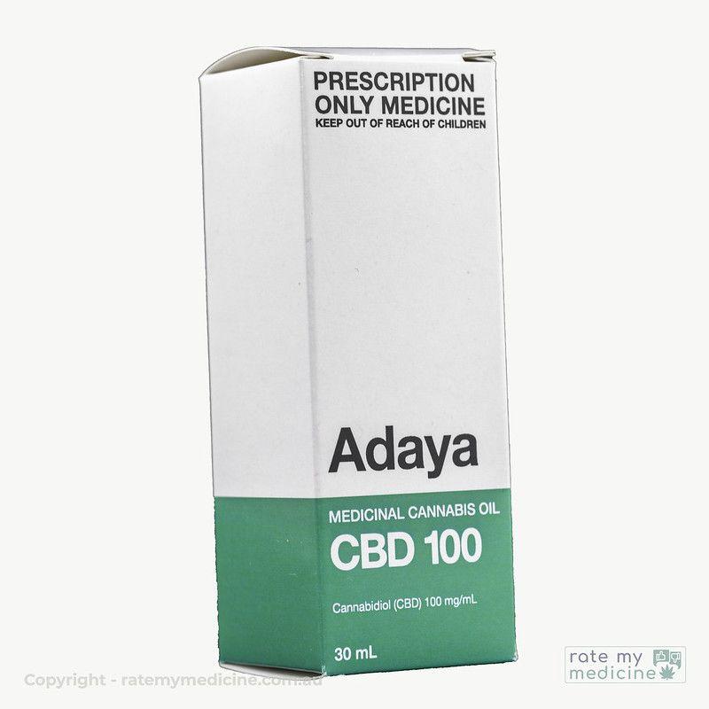 Adaya CBD 100 CBD Oil Medicinal Cannabis Box
