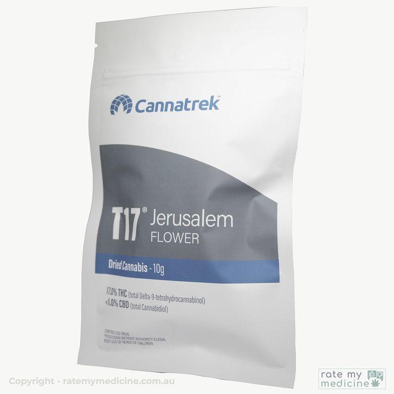 Cannatrek Jerusalem Flower bag front
