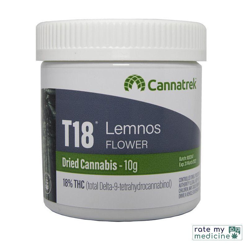 Cannatrek T18 Lemnos Flower Front