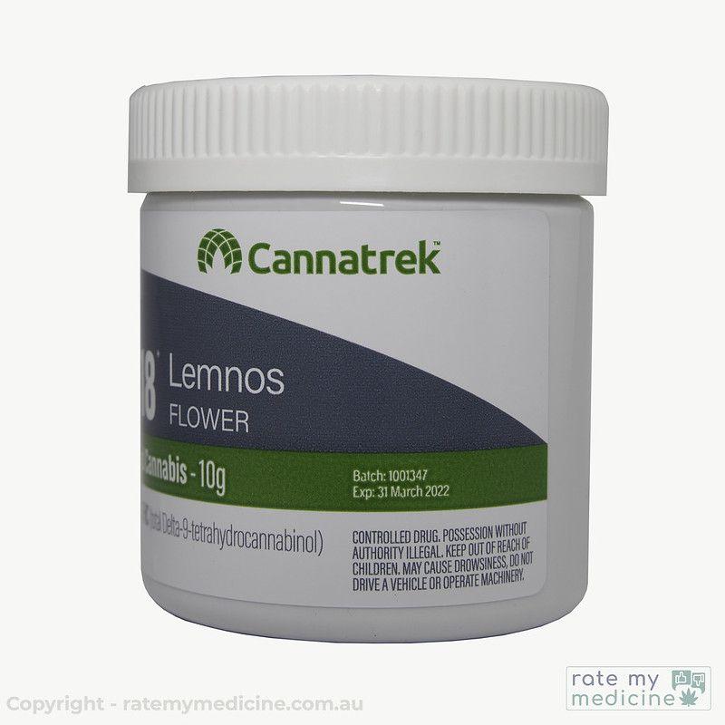 Cannatrek T18 lemnos Flower Front2