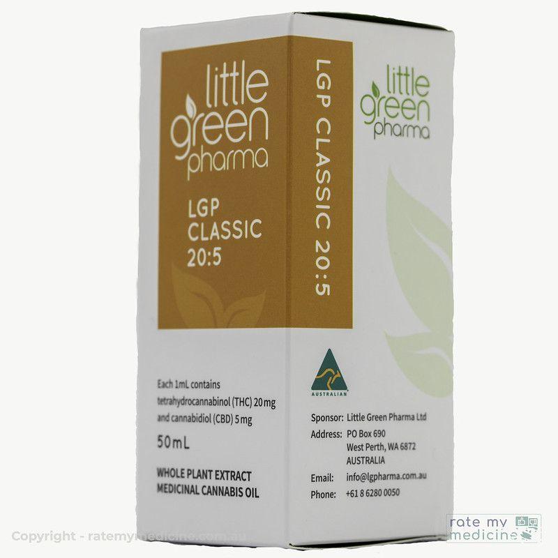 LGP Classic 20-5 Cannabis Oil