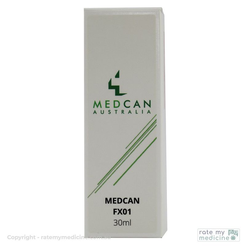 MedCan FX01 Cannabis Oil Box Front