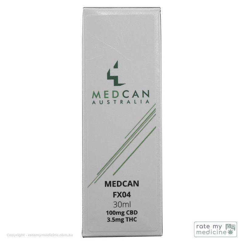 MedCan FX04 Cannabis Oil Box